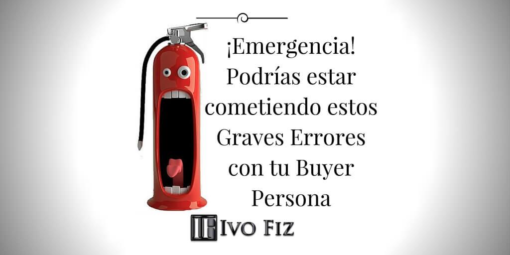 Buyer Persona Errores