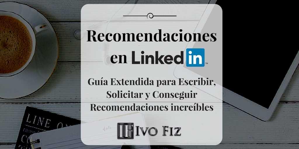 recomendaciones linkedin
