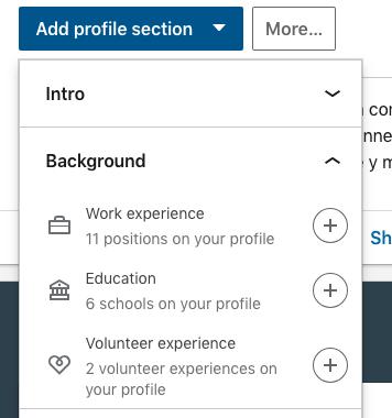 Cómo poner el voluntariado en Linkedin