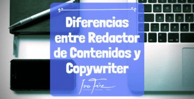 Diferencia entre redactor y copywriter