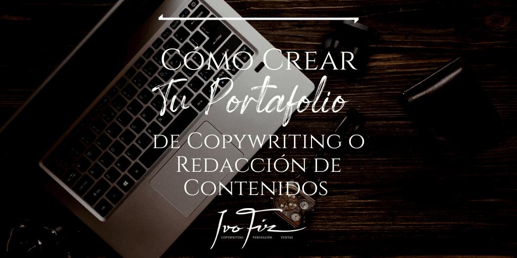 como hacer un portafolio de copywriter